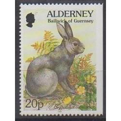 Aurigny (Alderney) - 1998 - Nb 121 - Mamals