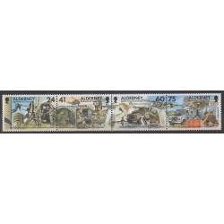 Aurigny (Alderney) - 1996 - No 90/93 - Histoire militaire - Télécommunications