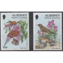 Aurigny (Alderney) - 1997 - No 100a/101a - Animaux