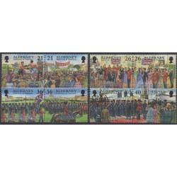 Aurigny (Alderney) - 2000 - Nb 159/166 - Various Historics Themes