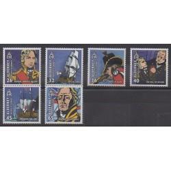 Aurigny (Alderney) - 2005 - No 254/259 - Histoire militaire - Navigation