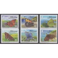 Aurigny (Alderney) - 2008 - No 321/326 - Insectes