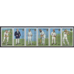 Aurigny (Alderney) - 1997 - Nb 103/107 - Various sports