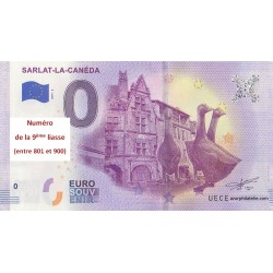 Billet souvenir - 24 - Sarlat - 2019-1