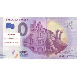 Euro banknote memory - 24 - Sarlat - 2019-1