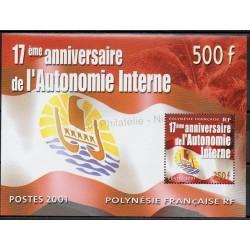 Polynésie - Blocs et feuillets - 2001- No BF26 - Histoire