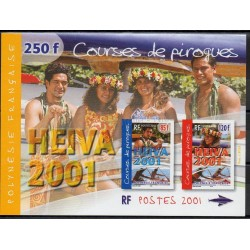 Polynésie - Blocs et feuillets - 2001- No BF27 - Sport