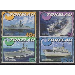 Tokelau - 2002 - Nb 285/288 - Boats