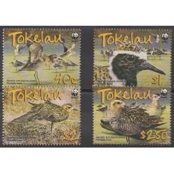 Tokelau - 2007 - Nb 310/313 - Birds - Endangered species - WWF