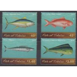 Tokelau - 2012 - Nb 359/362 - Sea animals