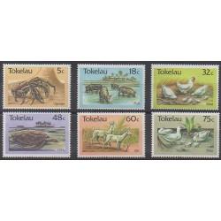 Tokelau - 1986 - No 137/142 - Animaux