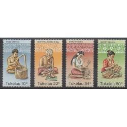 Tokelau - 1982 - No 81/84 - Artisanat ou métiers