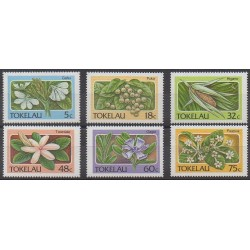Tokelau - 1987 - Nb 143/148 - Flowers