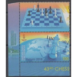 Kyrgyzstan (Express post) - 2018 - Nb 83 - Chess