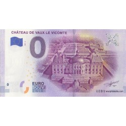 Billet souvenir - 77 - Château de Vaux-Le-Vicomte - 2019-2