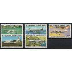 Polynésie - Poste aérienne - 1979 - No PA148/PA152