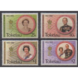 Tokelau - 1993 - Nb 192/195 - Royalty