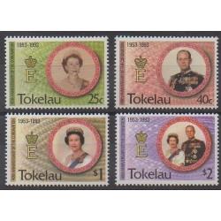 Tokelau - 1993 - No 192/195 - Royauté - Principauté