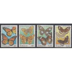 Tokelau - 1995 - No 217/220 - Insectes