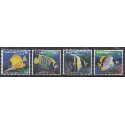 Tokelau - 1995 - Nb 213/216 - Sea animals
