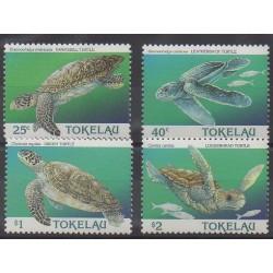 Tokelau - 1995 - No 221/224 - Reptiles