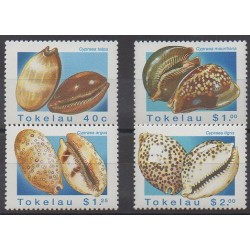 Tokelau - 1996 - Nb 233/236 - Sea animals
