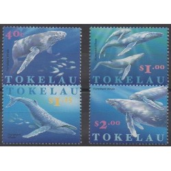 Tokelau - 1997 - Nb 242/245 - Sea animals - Mamals