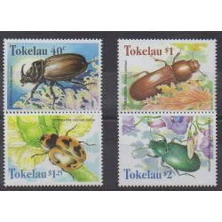 Tokelau - 1998 - Nb 247/250 - Insects