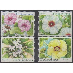 Tokelau - 1998 - Nb 251/254 - Flowers