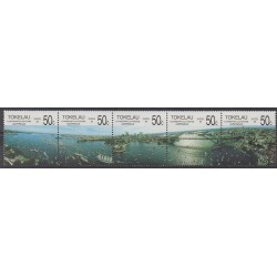 Tokelau - 1988 - Nb 155/159 - Sights - Philately