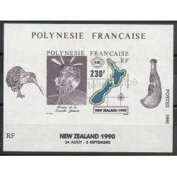 Stamps - Theme exhibition - Polynesia - Blocks and sheets - 1990 - Nb BF17
