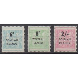 Tokelau - 1966 - Nb 6/8