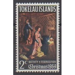 Tokelau - 1969 - Nb 20 - Christmas