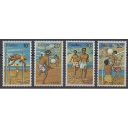 Tokelau - 1981 - No 77/80 - Sports divers