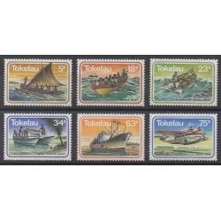 Tokelau - 1983 - Nb 91/96 - Boats - Planes