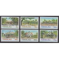 Tokelau - 1985 - No 124/129 - Architecture