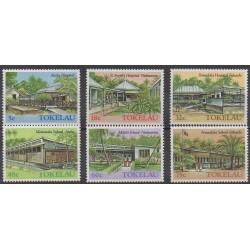Tokelau - 1986 - Nb 130/135 - Architecture