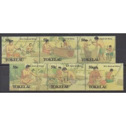 Tokelau - 1990 - Nb 178/183 - Craft