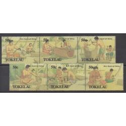 Tokelau - 1990 - No 178/183 - Artisanat ou métiers