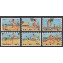 Tokelau - 1987 - Nb 149/154 - Various sports