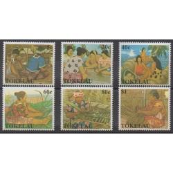 Tokelau - 1990 - No 183A/183F - Artisanat ou métiers