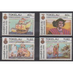 Tokelau - 1992 - Nb 188/191 - Christophe Colomb