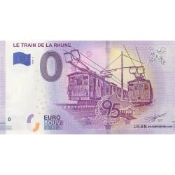 Euro banknote memory - 64 - Le Train de la Rhune - 2019-3