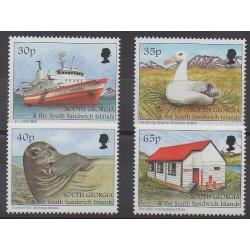 Falkland-Géorgie du Sud et Sandwich du Sud - 1998 - No 284/287 - Tourisme
