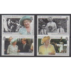 Falkland - 1999 - Nb 293/296 - Royalty