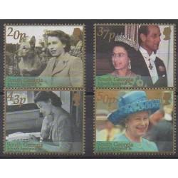Falkland - 2002 - Nb 334/337 - Royalty