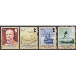 Falkland-Géorgie du Sud et Sandwich du Sud - 2004 - No 398/401