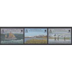 Falkland-Géorgie du Sud et Sandwich du Sud - 2000 - No 315/317 - Polaire