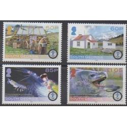 Falkland-Géorgie du Sud et Sandwich du Sud - 2008 - No 437/440 - Polaire