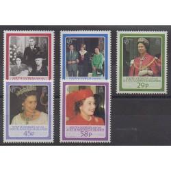 Falkland - 1986 - Nb 158/162 - Royalty